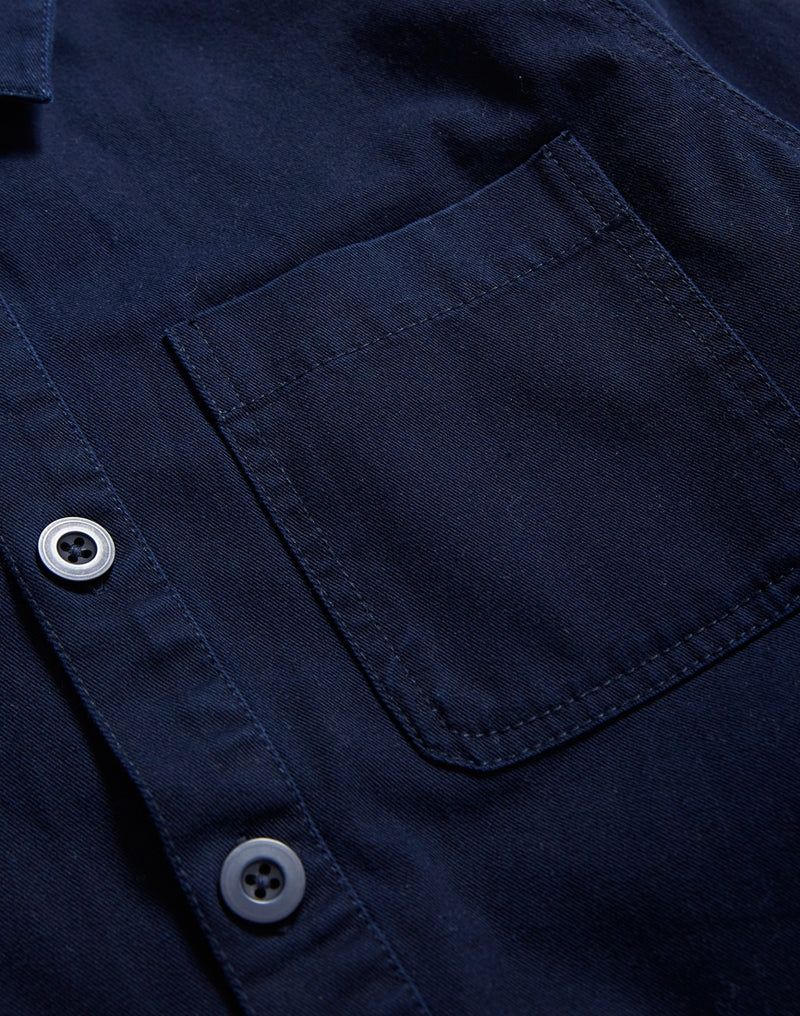The Idle Man - Chore Jacket Navy