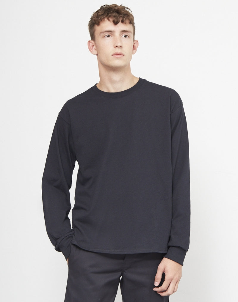 The Idle Man - Classic Long Sleeve T-Shirt Black