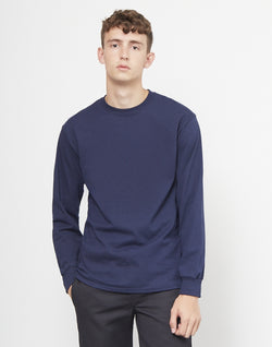 The Idle Man - Classic Long Sleeve T-Shirt Navy