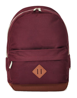 The Idle Man - Heritage Backpack Burgundy