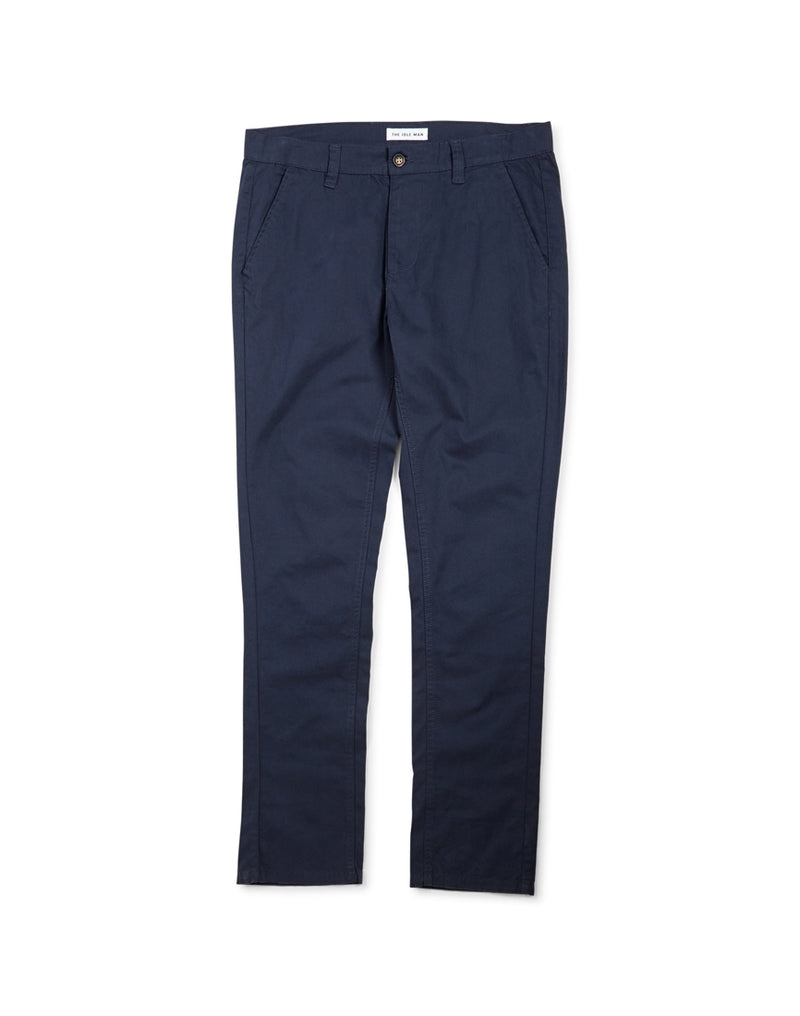 The Idle Man - Lightweight Summer Chino Navy