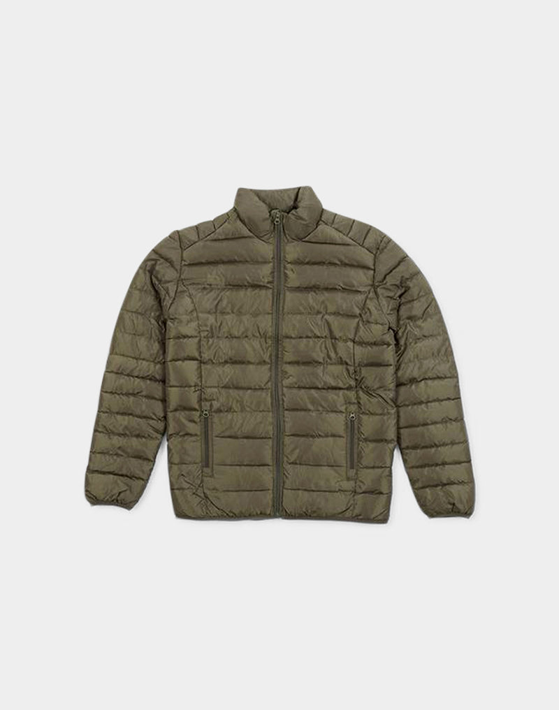 The Idle Man - Liner Puffer Jacket Green