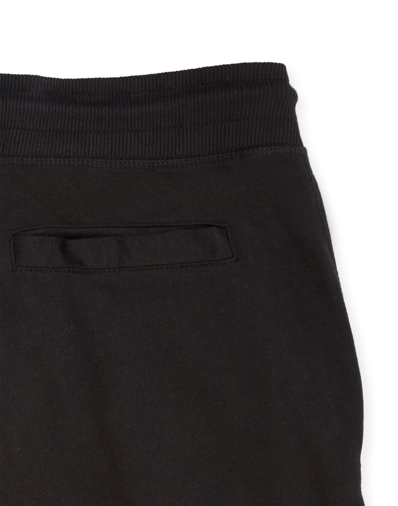 The Idle Man - Loopback Jersey Shorts Black