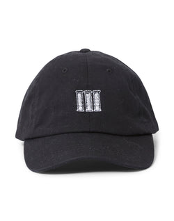 The Idle Man - Pillars Embroidered Cap Black