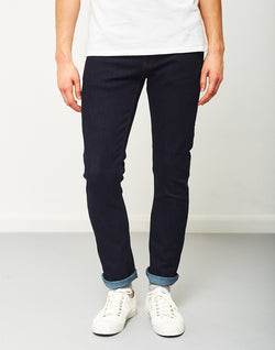 The Idle Man - Slim Fit Jeans Rinse Wash/Raw