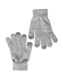 The Idle Man - Smart Touch Gloves Grey