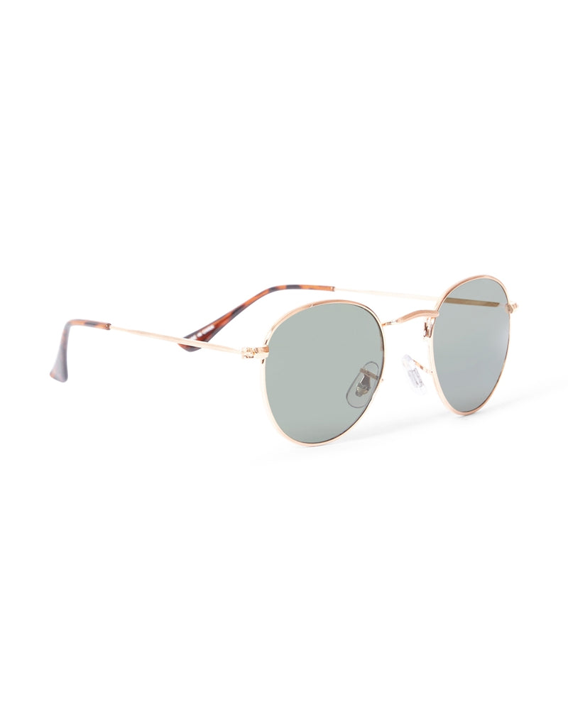 The Idle Man - Vintage Aviator Sunglasses Rose Gold
