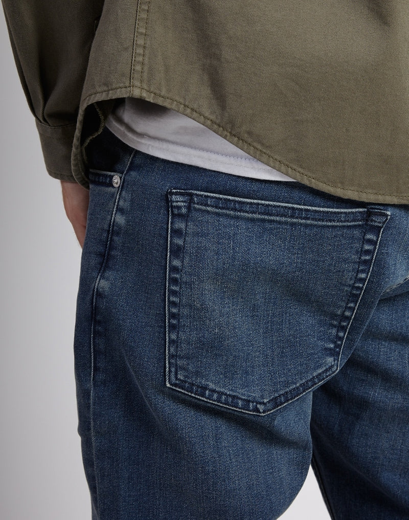 The Idle Man - Vintage Stonewash Slim Jean