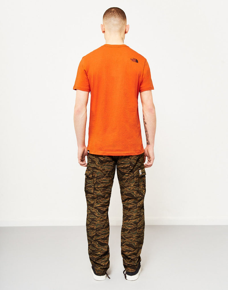 The North Face - Black Label Short Sleeve Fine T-Shirt Orange