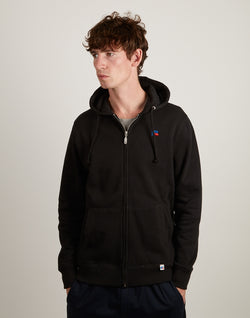 Russell Athletic - Randy Zip Hoodie Black