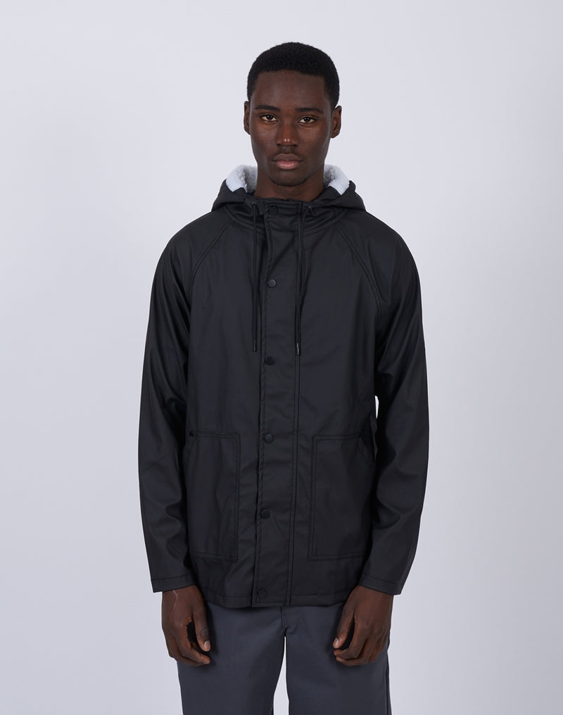 The Idle Man - Borg Hood Rain Coat