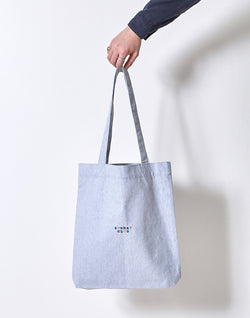 The Idle Man - Sunday Club Tote Bag Grey