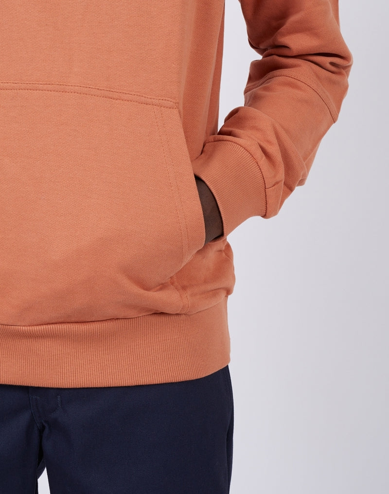The Idle Man -Pocket Sweatshirt Rust