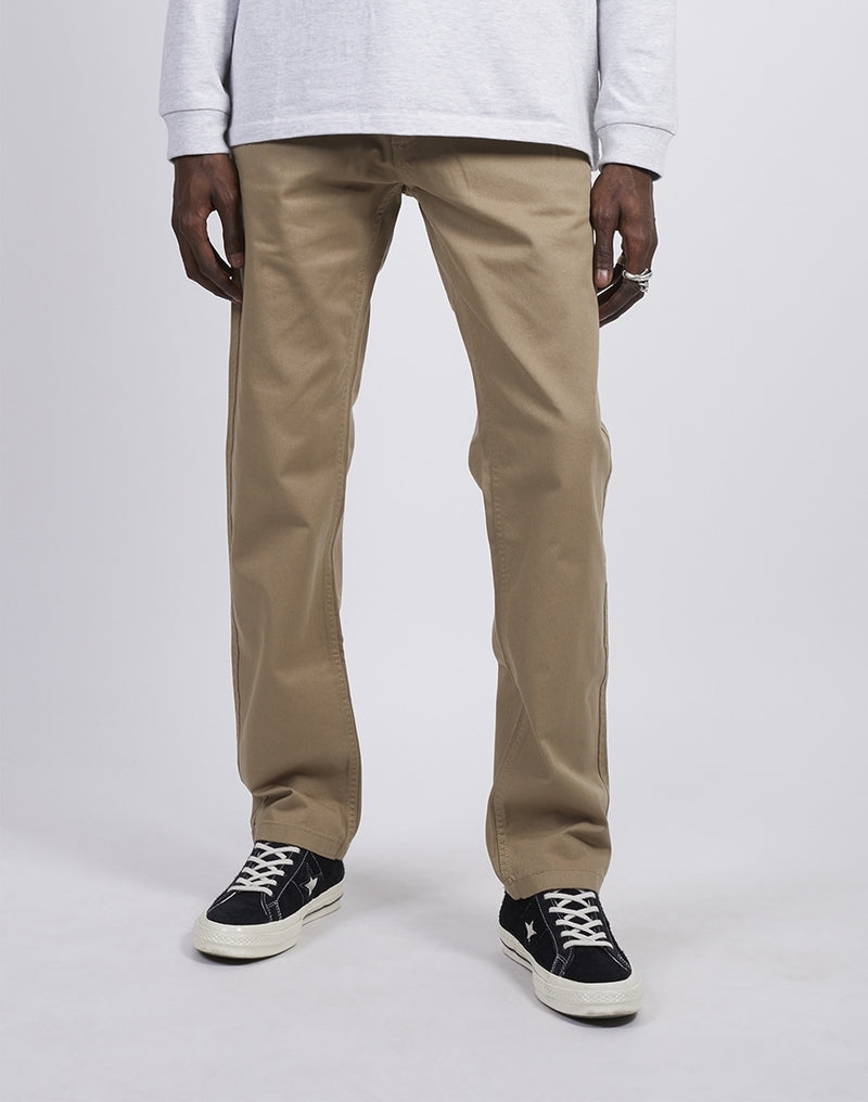 The Idle Man -Slim Fit Chino Stone