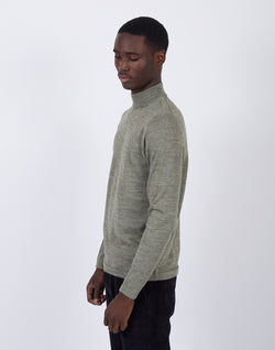 The Idle Man - Turtle Neck Khaki