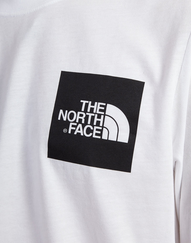 The North Face - Long Sleeve Fine T-Shirt White