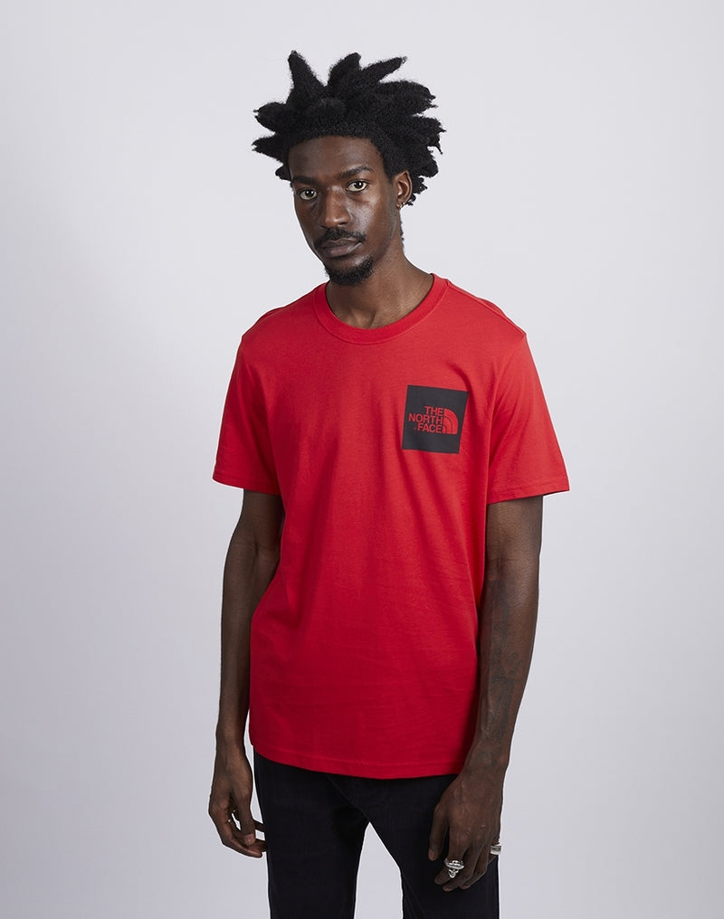 The North Face - Short Sleeve Fine T-Shirt Red