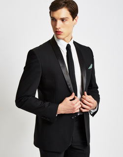The Idle Man - Tuxedo Jacket in Slim Fit