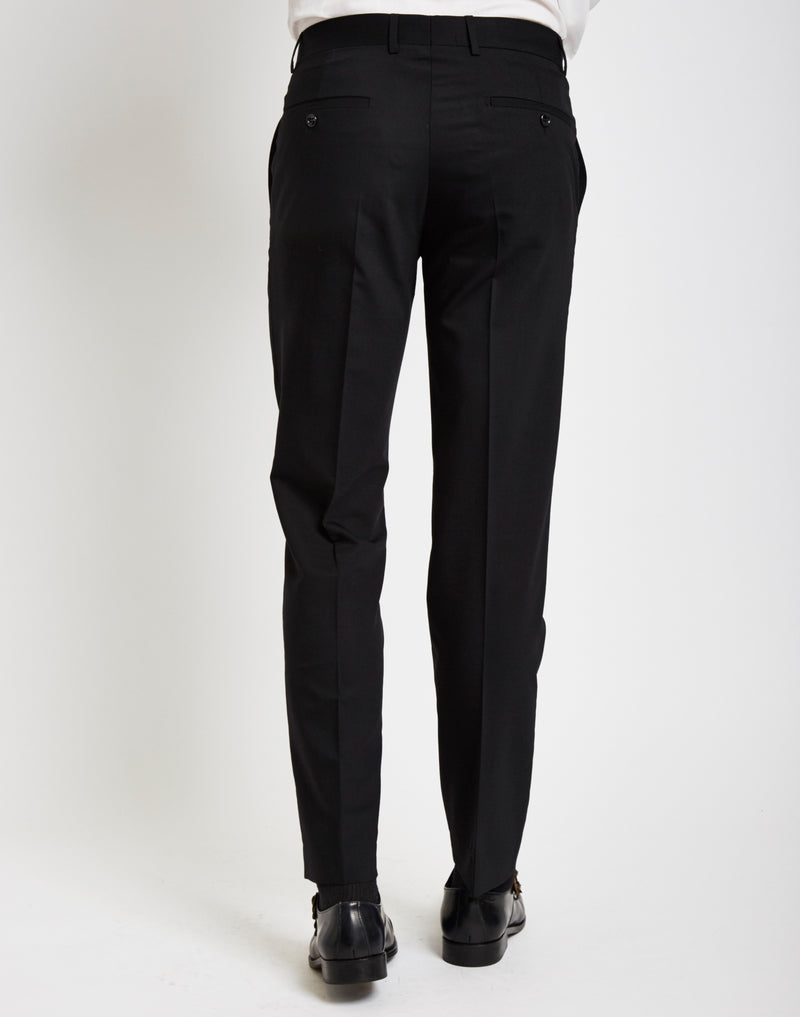 The Idle Man - Tuxedo Trousers in Slim Fit