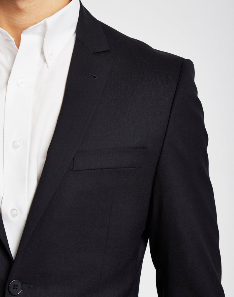 The Idle Man - Suit Jacket in Slim Fit - Navy