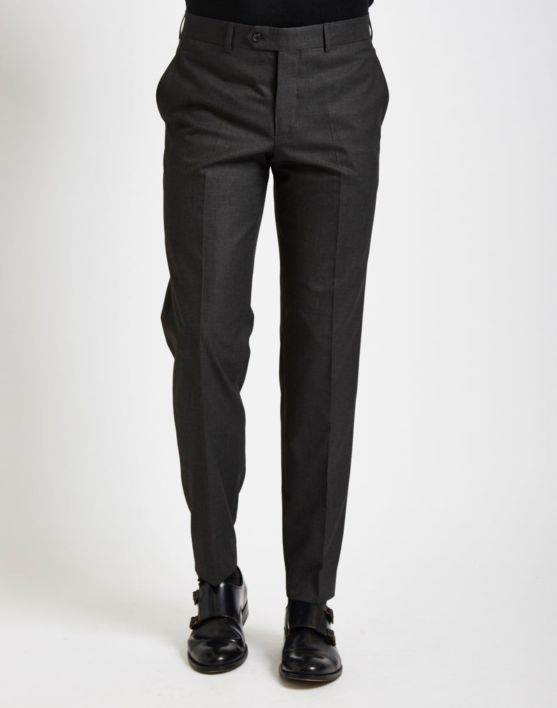 The Idle Man - Suit Trousers in Slim Fit Grey
