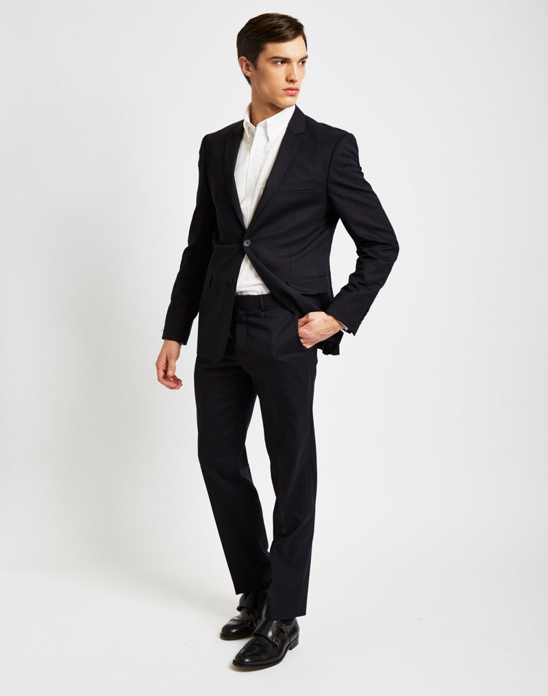 The Idle Man - Suit Trousers in Slim Fit - Navy
