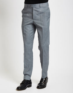The Idle Man - Suit Trousers in Skinny Fit - Grey