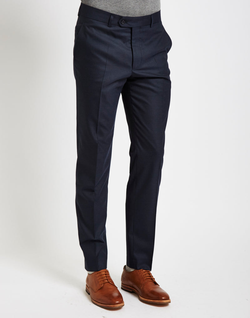 The Idle Man - Suit Trousers in Skinny Fit - Navy
