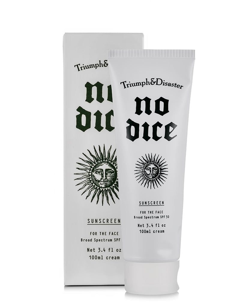 Triumph & Disaster - No Dice Sunscreen SPF50 100ml