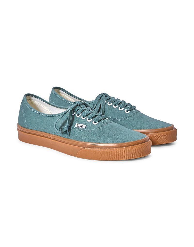 Vans - Authentic Canvas Plimsolls Green