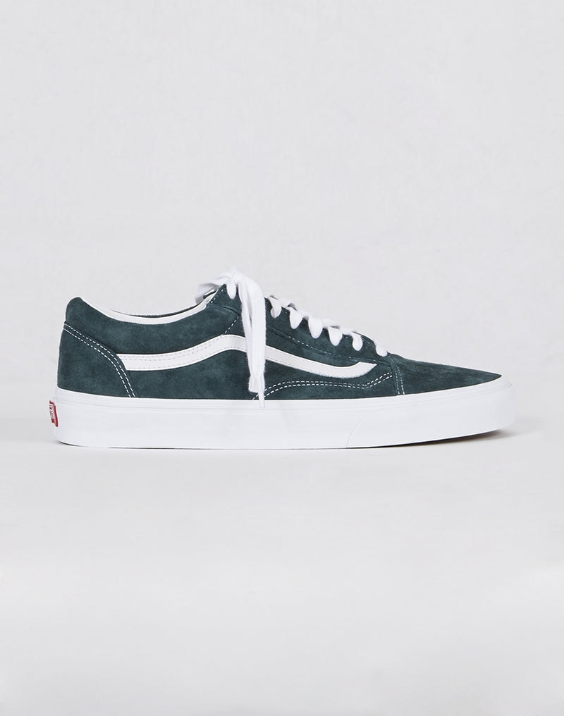Vans - Old Skool Plimsolls Dark Blue Suede