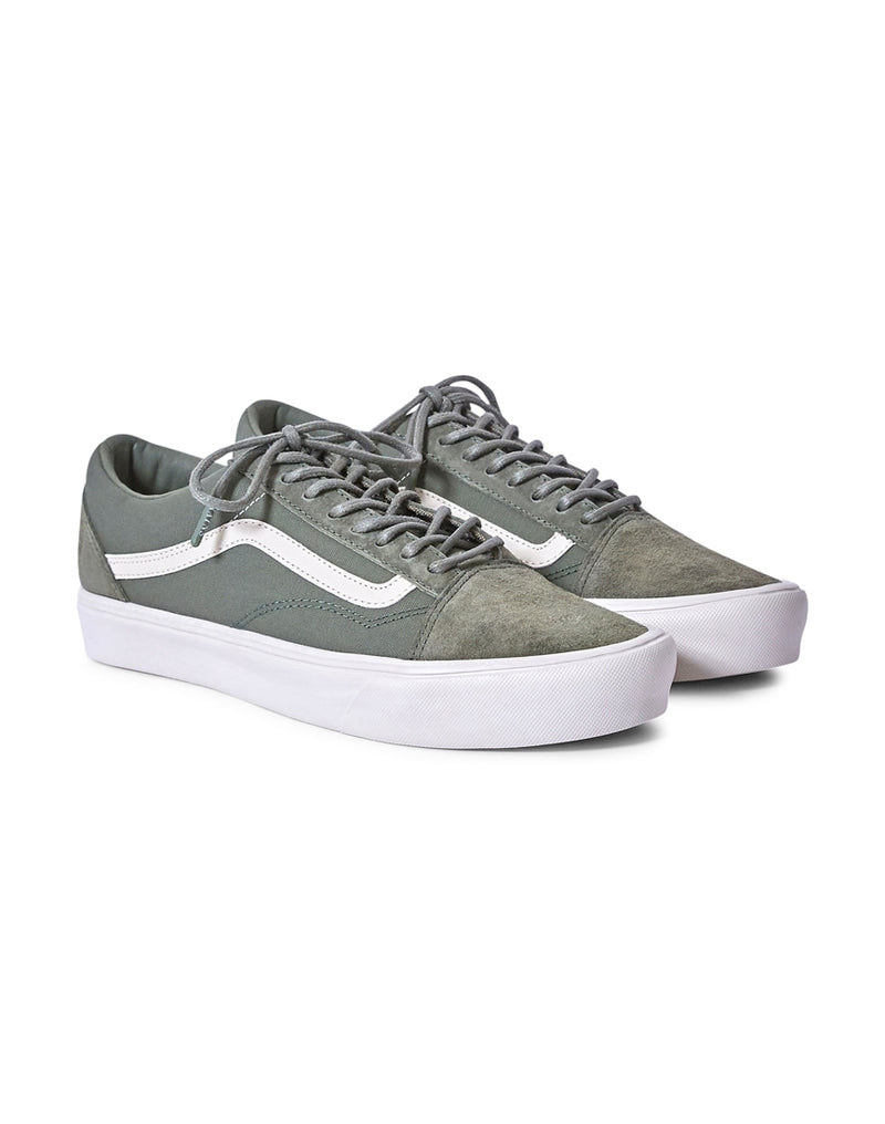 Vans - Rains Old Skool Trainers Lite Green