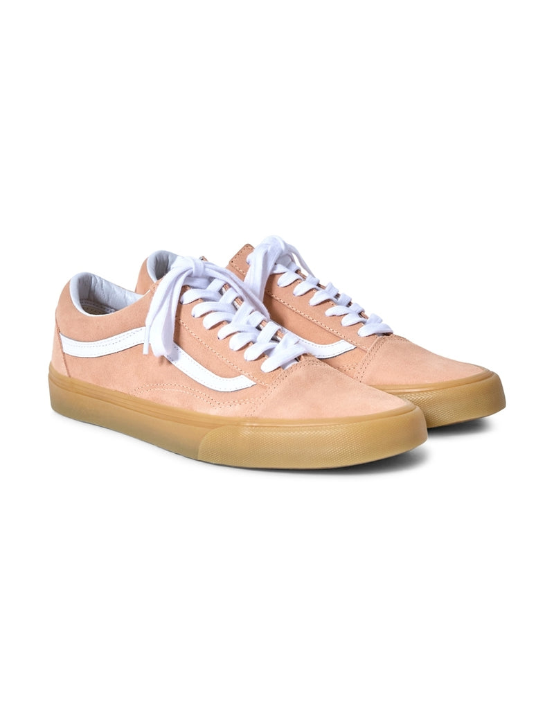Vans - Old Skool Trainers Gum Sole Orange
