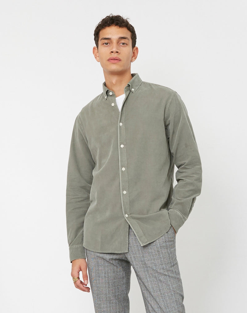 Wax London - Bampton Shirt Green