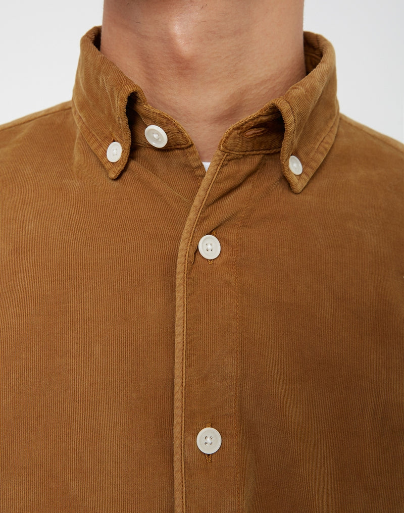 Wax London - Bampton Shirt Tan