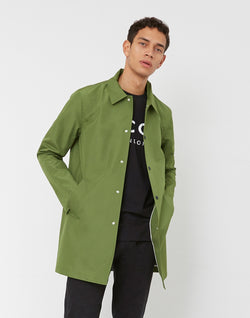 Wax London - Hinkley Rain Mac Green