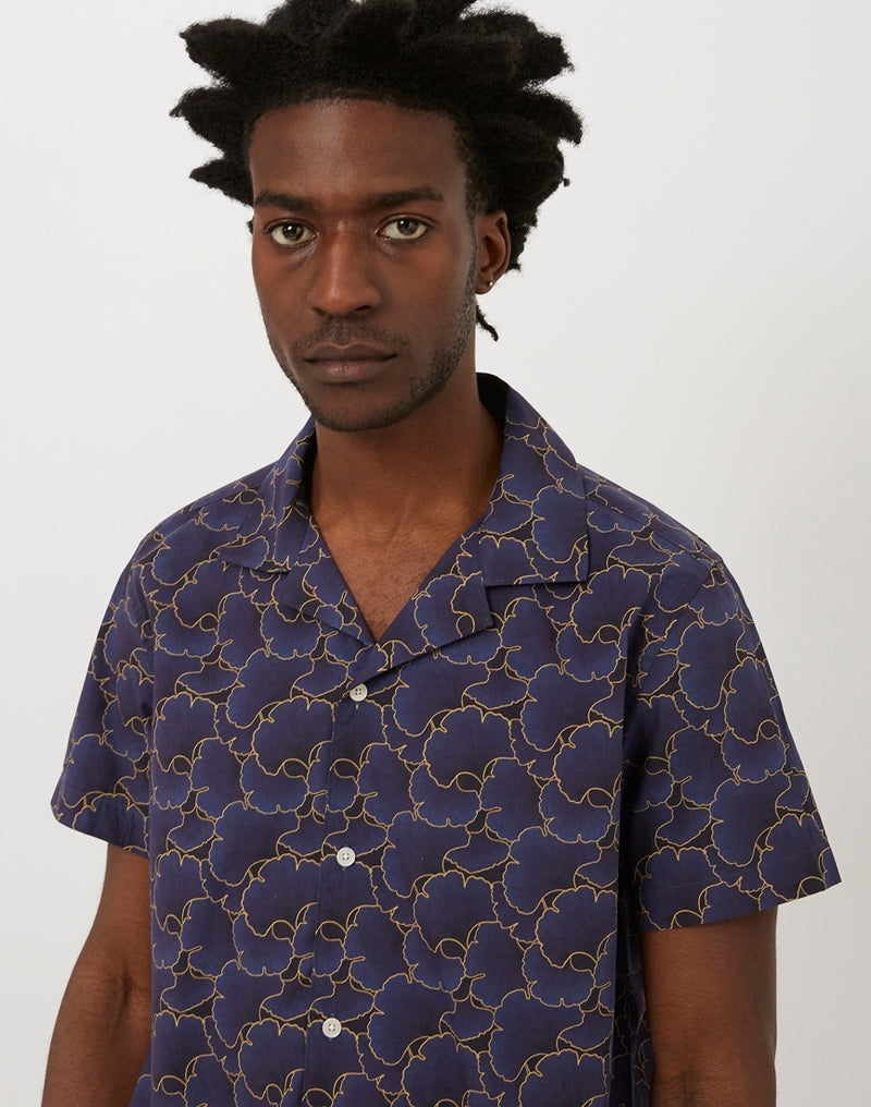 Wax London - Selby Shirt Bilboa Print