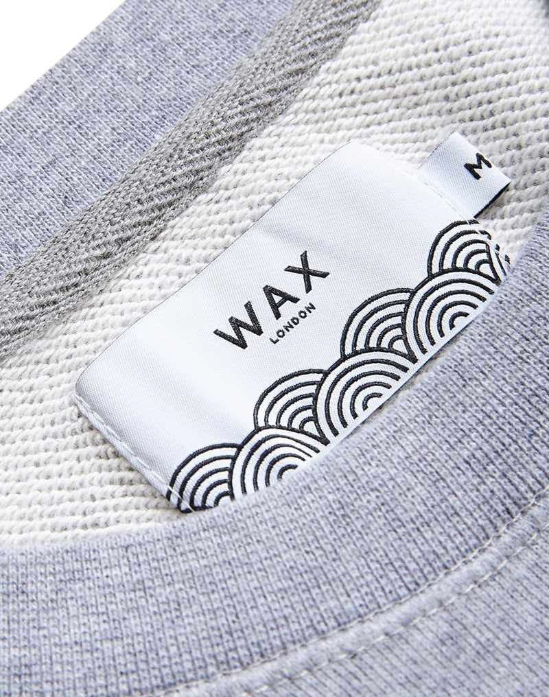 Wax London - Westbury Sweatshirt Grey