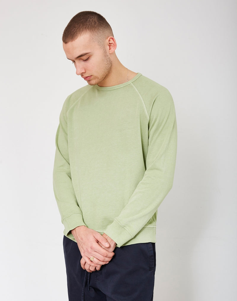 YMC - Schrank Raglan Sweatshirt Light Green