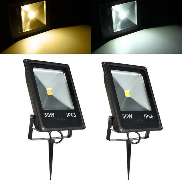 50W Waterproof IP65 White/Warm White LED Flood Light Outdoor Garden Security Lamp
