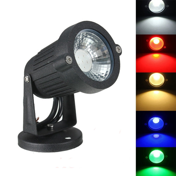 3.5W IP65 LED Flood Light With Base For Outdoor Landscape Garden Path AC85-265V