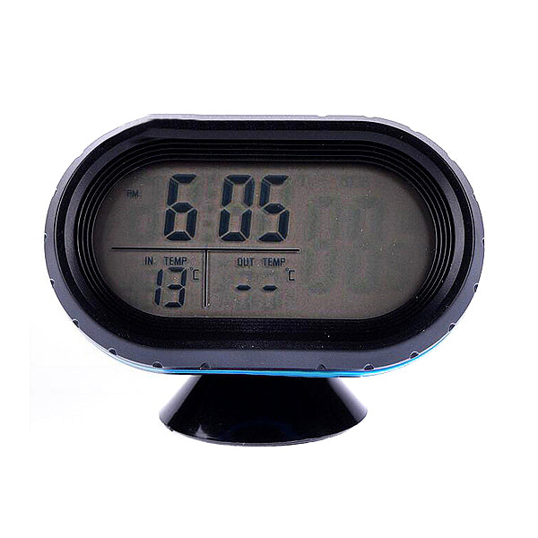 Car Clock Car thermometer Voltmeter Vehicle Electronic Meter Two Color Luminous Display