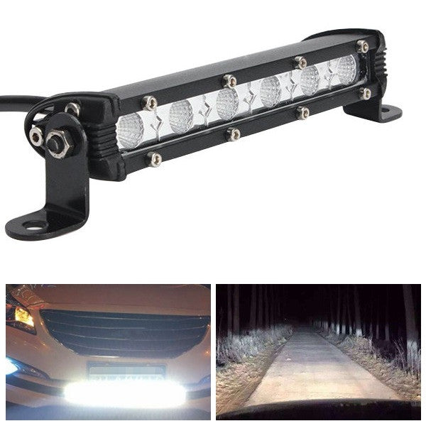 7Inch 9W IP67 Off Road LED Work Light Bar Flood Lamp For Car SUV Boat Truck