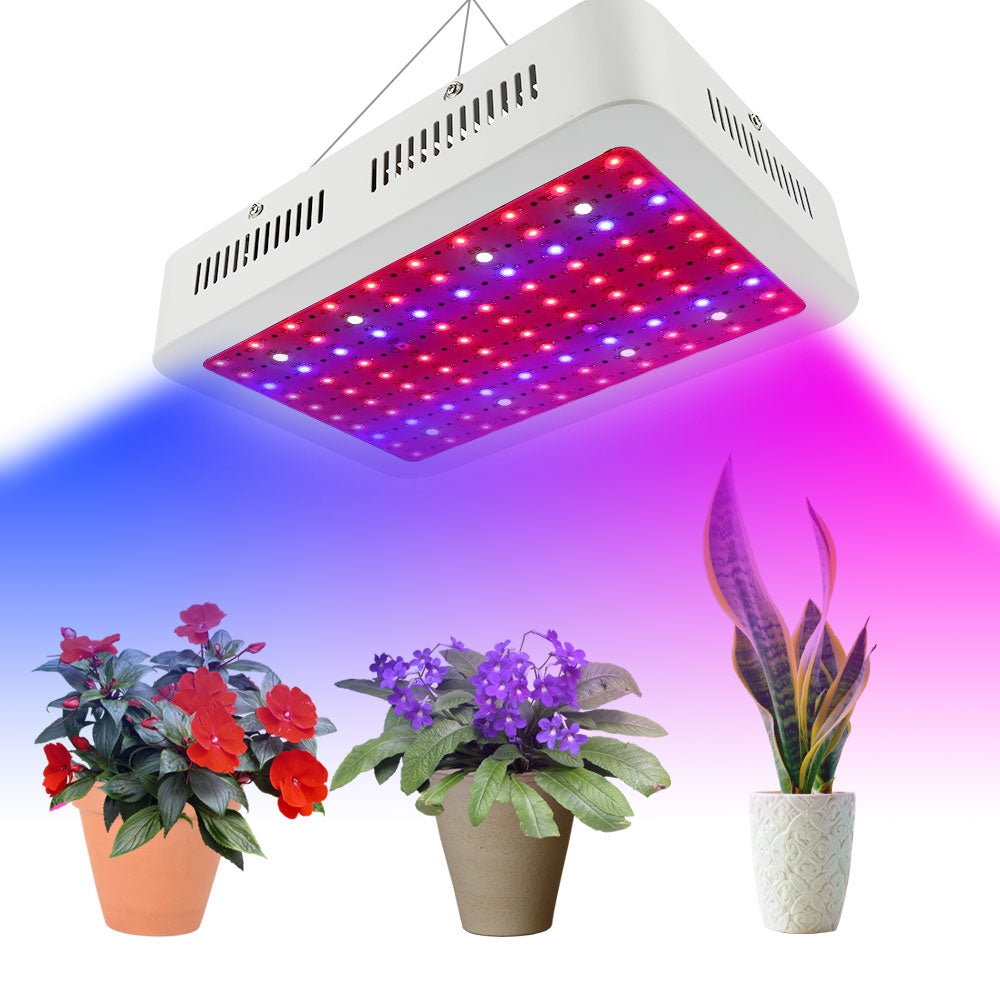 1000Wled 1000W Single Core LED Plant Grow Lights Lamp 85V - 265V UK Plug
