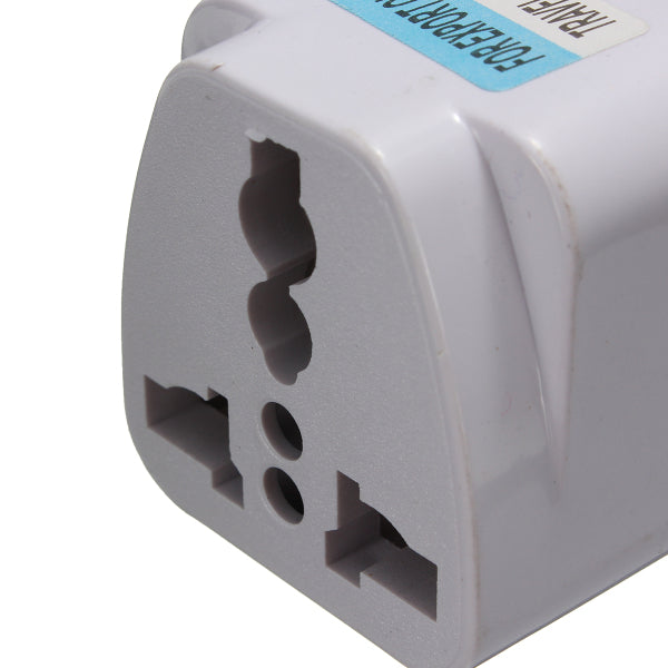 Universal US/UK/AU To EU AC Power Adapter 2 Pin Travel Converter Adapter Socket Charger