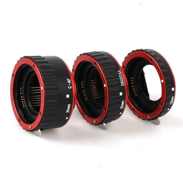 Colorful Metal AF Macro Extension Tube Ring For Canon EOS EF EF-S
