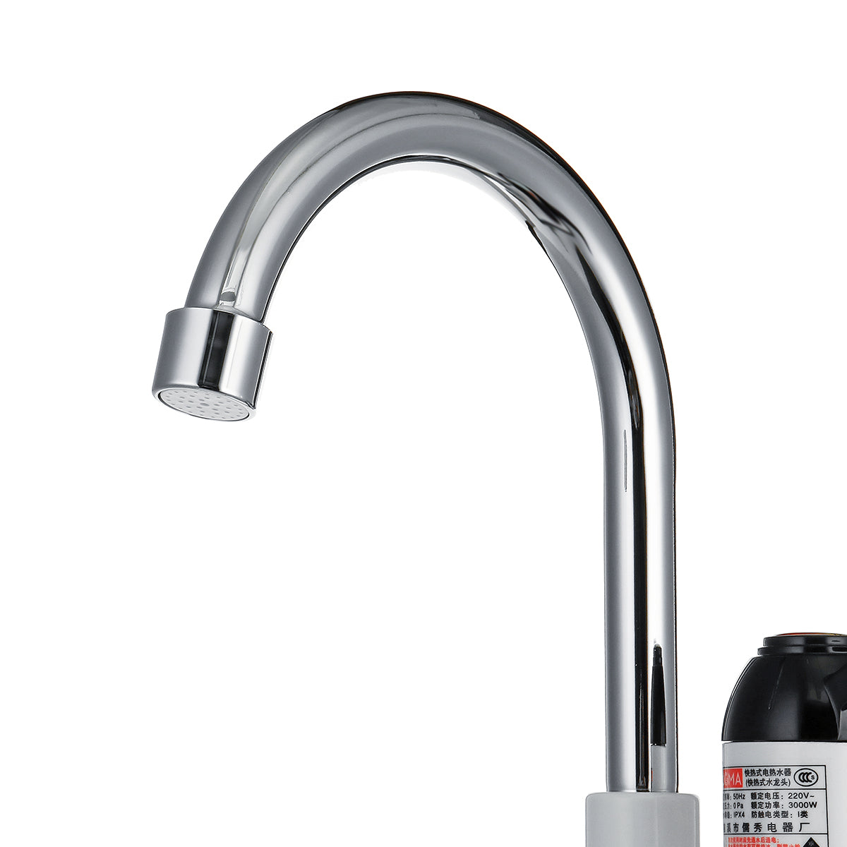3000W Instant Electric Faucet Under Inflow/Lateral Inflow Kitchen Hot Water Heater Tap