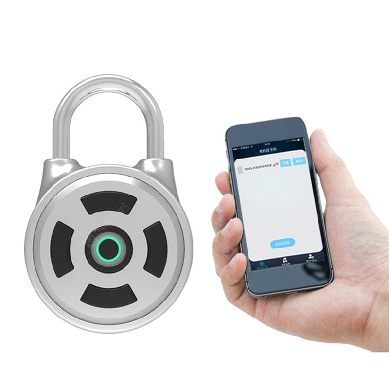 APP Intelligent Password Lock Android iOS APP Unlock Anti-Theft Security Combina