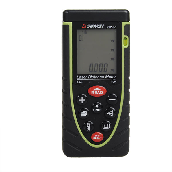 SW-40 40m Laser Distance Meter Rangefinder Distance Meter Measurement