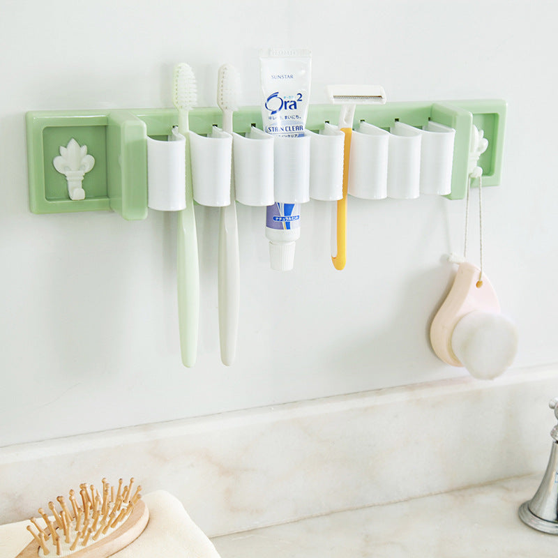 ABS PE Bathroom Kitchen Multifunction Storage Rack Sundries Holder Stand Shelves Sunction